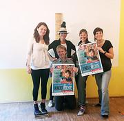 v. li.: Antonia Feichtenschlager, Andrea Holz-Dahrenstaedt, Marietta Oberrauch, Veronika Weis & Thomas Schuster