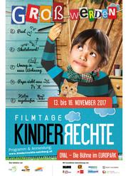 Plakat Kinderrechte Filmtage 2017