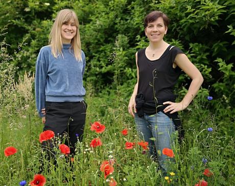 Joanna Wiseman und Veronika Weis