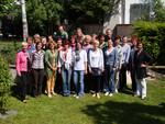 Gruppenfoto der TeilnehmerInnen des Peermediations-Lehrganges.