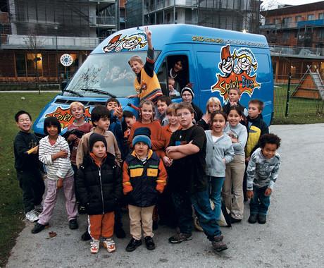 Der Salzburger Spielbus