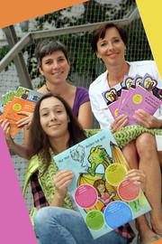 Veronika Weis (kija Salzburg), Andrea Holz-Dahrenstaedt (kija Salzburg) & Victoria Swann (Illustratorin)