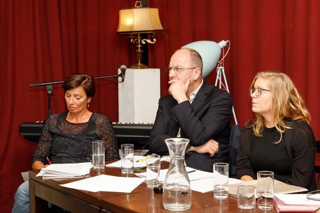 v. li.: Andrea Holz-Dahrenstaedt (kija Salzburg), Karl Zallinger (ÖVP-Landtagsabgeordneter) und Lina ?eni? (Diakonie Salzburg)