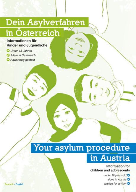 """Broschüre """"Dein Asylverfahren in Österreich"""""""