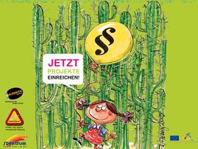 Plakat für den vierten Salzburger Kinderrechtspreis.