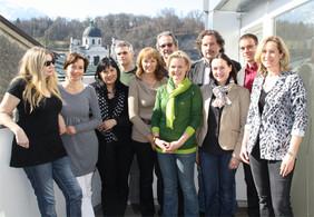 Die Kinder- und JugendanwältInnen Österreichs bei ihrer Tagung im März 2011 in Salzburg.