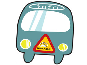 """Logo """"kija on tour"""""""