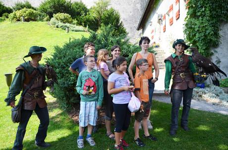 MutMachen-Fest auf der Burg Hohenwerfen.