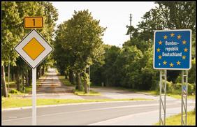 Grenze nach Deutschland