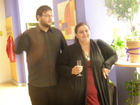 Barbara Frauendorff mit Ehemann.