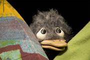 Das hässliche Entlein als Marionettenfigur.