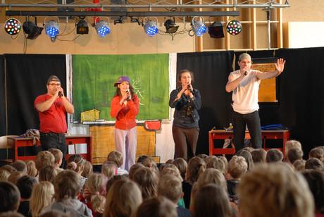 Traumfänger auf der Bühne